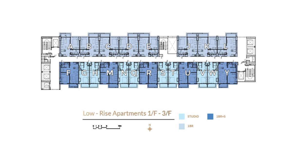Floorplan 1/F-3/F