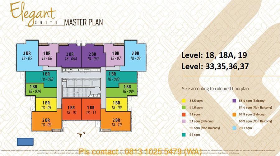 Elegant Suite - Master Plan