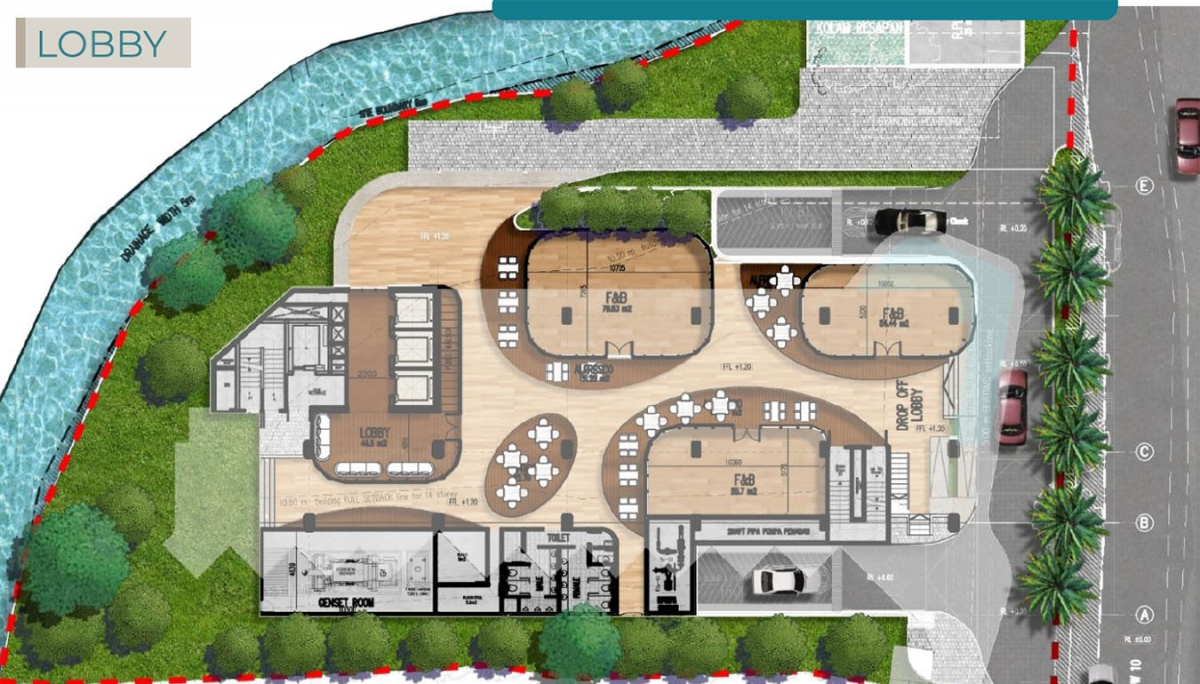 Lobby Floorplan